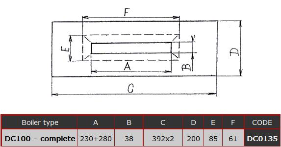 ФОРСУНКА КОМПЛЕКТНАЯ DC0135 ДЛЯ ТВЕРДОТОПЛИВНОГО КОТЛА Atmos DC100