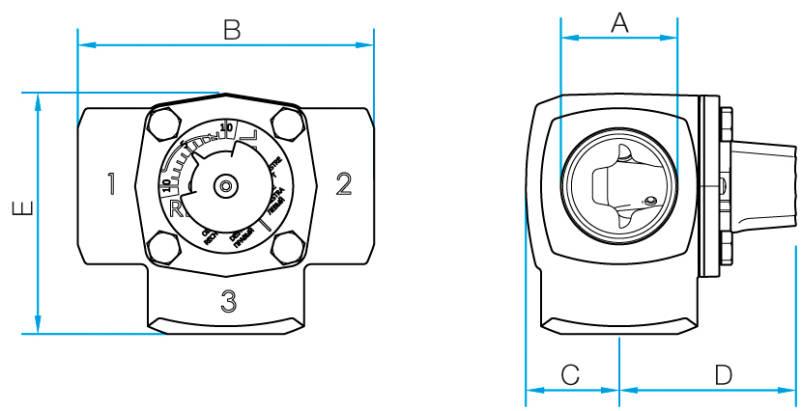 размеры Vexve Termomix D20-50