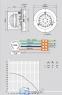Вентилятор вытяжной дымосос 180 CG91-05 для пиролизных котлов до 80 кВт 0