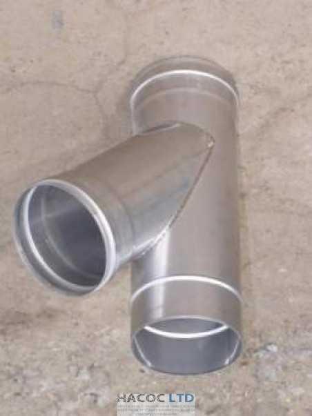 Тройник 45 из нержавеющей стали (сталь марки 430)