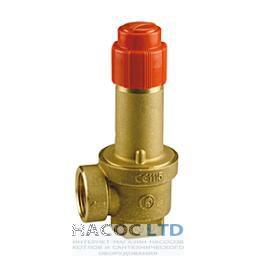 Предохранительный клапан с внутренней резьбой 2.5 бар GIACOMINI 3/4' 2,5 BAR