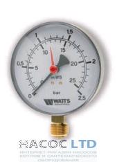 Манометр Watts MYR 80/25