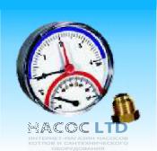 Термоманометр аксиальный Watts TMAX 10 1/2
