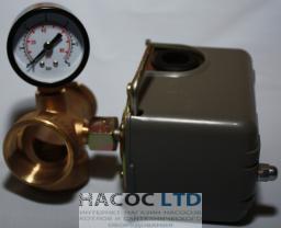Комплект автоматики реле давления  KPS-15А (Сухой ход) гайка