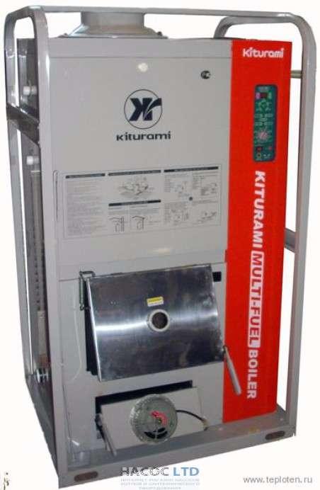 Твердотопливный двухконтурный котел Kiturami KR-30UM