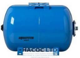 Гидроаккумулятор Aquasystem VAO 80 (горизонт.)