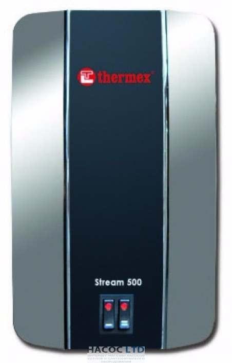 Проточный водонагреватель THERMEX Stream 500 Chrome