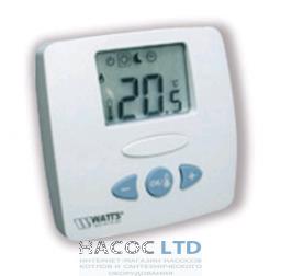 Электронный комнатный термостат с ЖК-дисплеем Watts WFHT-LCD (без внешнего датчика)