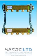 Коллектор для этажной радиаторной разводки Watts HKV/A-3