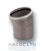 Колено (отвод) 15°, d 50 мм