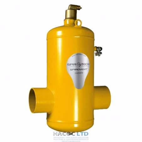 Сепаратор воздуха Spirotech Spirovent Air DN080 под сварку