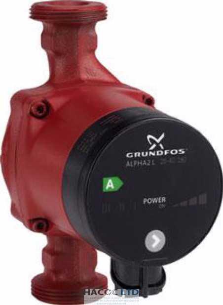 Циркуляционный насос Grundfos ALPHA2 L 25-60 180