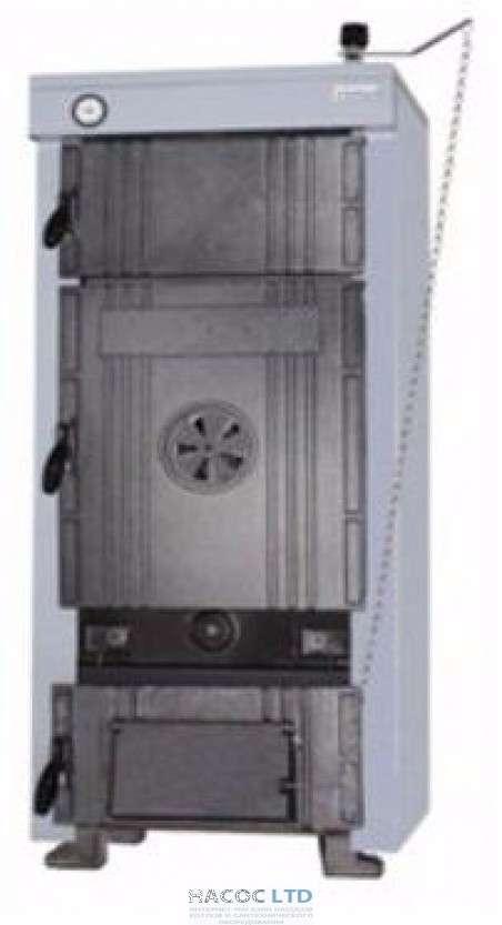 Котёл твердотопливный литой чугунный RIMA S.MAX-08 73.6--77kw