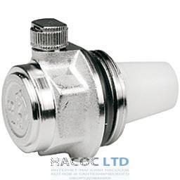 Автоматический воздухоотводный клапан, хромированный GIACOMINI 1