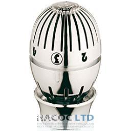 Термостатическая головка с жидкостным датчиком, хромированная, с блестящей поверхностью GIACOMINI