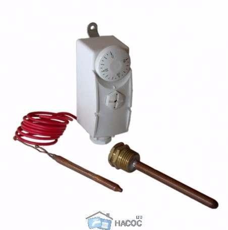 Термостат с выносной гильзой, Термостат с капиллярной трубкой COMPUTHERM WPR-90GC