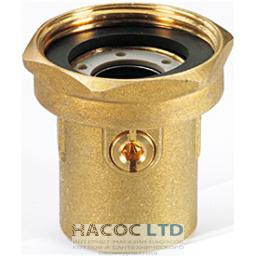 Запорный шаровой клапан для насоса, нехромированный GIACOMINI 2