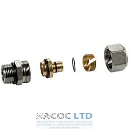Фитинг для многослойных труб, резьбовое внешнее соединение с o-ring 1/2 x 16 (2.00) GIACOMINI