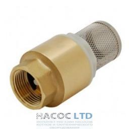 Обратный клапан для воды с сетчатым фильтром 1