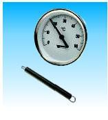 Термометр биметаллический накладной Watts TAB 63/60