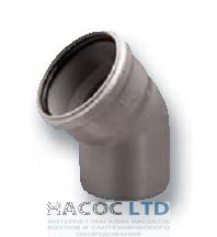 Колено (отвод) 45°, d 110 мм
