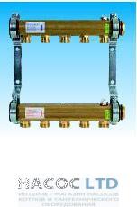 Коллектор для этажной радиаторной разводки Watts HKV/A-9