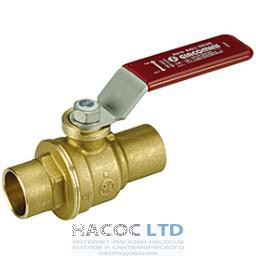 Полнопроходной шаровой клапан с отводом под пайку GIACOMINI 15