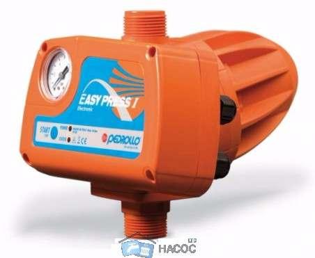 Pedrollo EASY PRESS 1 Пресконтроль электронный с манометром