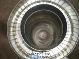 Труба из нержавеющей стали с термоизоляцией в нержавеющем кожухе (сталь марки 304)