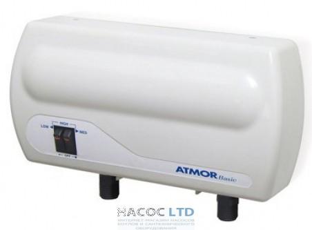 Проточный водонагреватель Atmor Basic 3.5 kW (1.5+2) душ