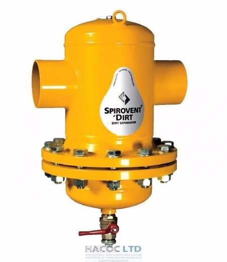 Сепаратор шлама Spirotech SpiroTrap Dirt DN080 под сварку, разборный