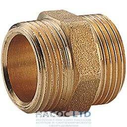 Прямой фитинг для соединения гофрированных труб из нержавеющей стали, флянцевий 1