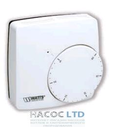 Электронный комнатный термостат с радиоуправлением Watts WFHT-RF BASIC