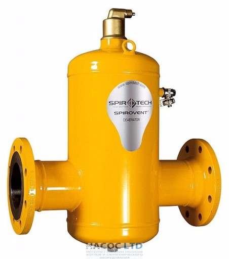 Сепаратор воздуха Spirotech Spirovent Air DN065 фланец