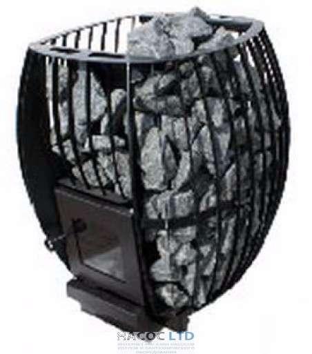 Дровяная печь каменка для бани и сауны Скала