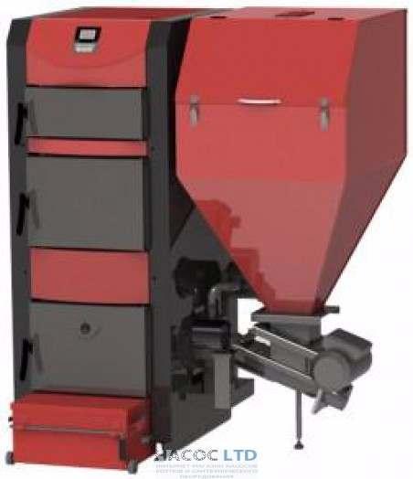 Комбинированный твердотопливный котел BURNIT ConbyBurn 35 кВт