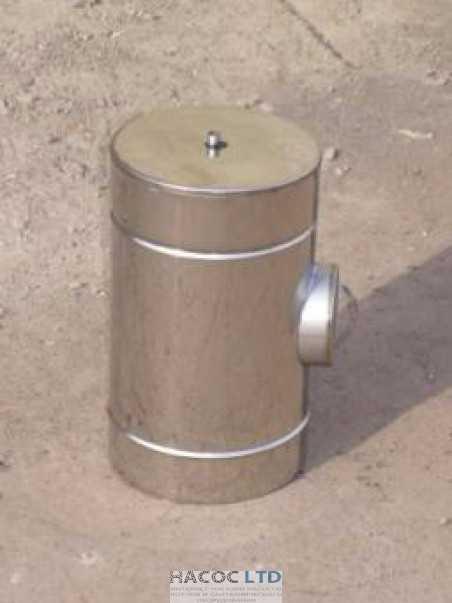 Ревизия теплоизолированная в оцинкованном кожухе (сталь марки 430)