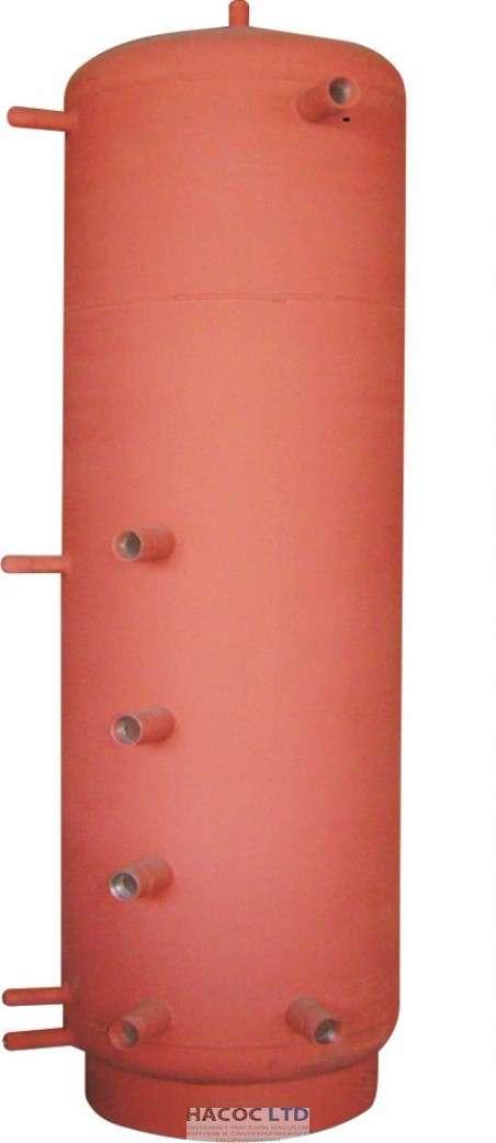 Аккумулирующая ёмкость АБН-1В-200 змеевик для ГВС 20мм