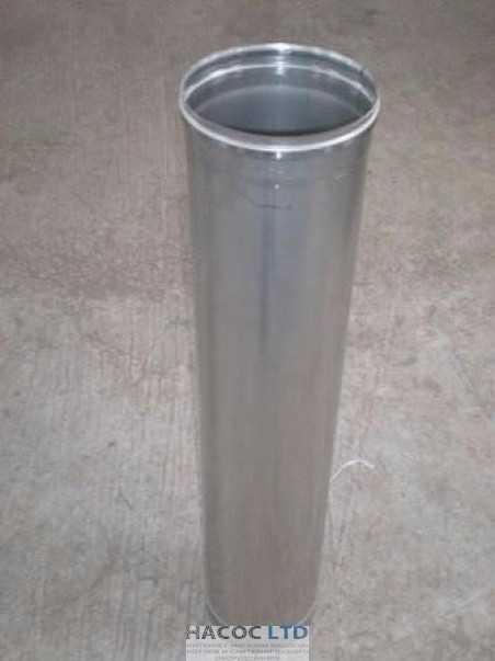 Труба из нержавеющей стали марки 304 длинной 0.3 метра