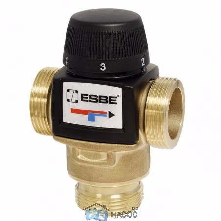 Термостатический смесительный клапан ESBE VTA 552