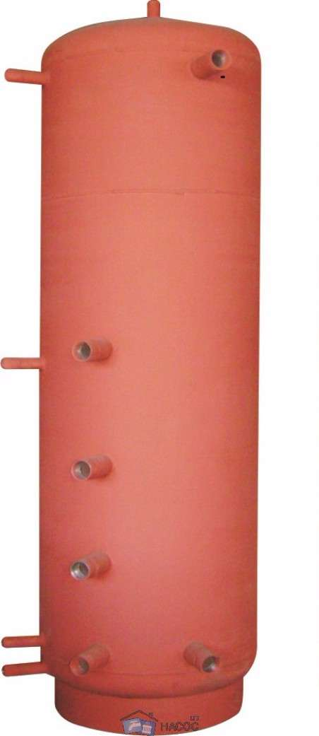 Аккумулирующая ёмкость АБН-1В-350 змеевик для ГВС 20мм