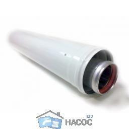 Коаксиальный удлинитель (60/100) L 0.25м.