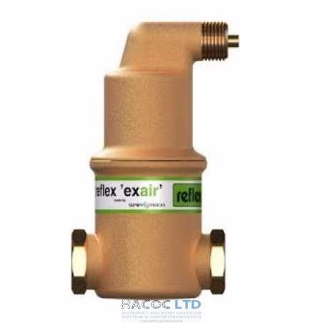 Сепаратор воздуха Reflex exair A 22мм 110°C - 10 Бар
