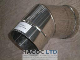 Колено 45 из нержавеющей стали (сталь марки 430)