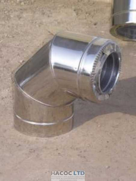 Колено с термоизоляцией (сталь марки 304)