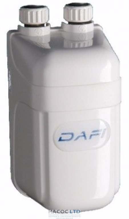Проточный водонагреватель Dafi с набором для установки до смесителя 4,5 кВт