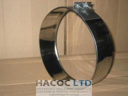 Хомут обжимной (сталь марки 304)