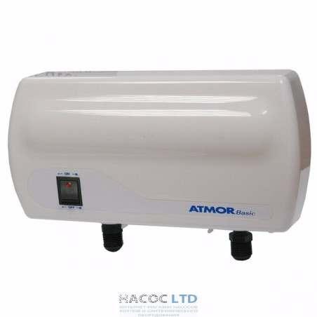 Проточный водонагреватель Atmor Basic 5 kW (2+3) кран