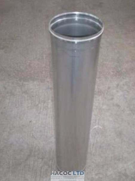 Труба из нержавеющей стали марки 304 длинной 1 метр