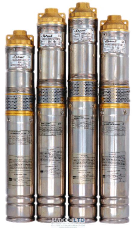 SPRUT QGDа 1,8-50-0.5kW нерж. + пульт